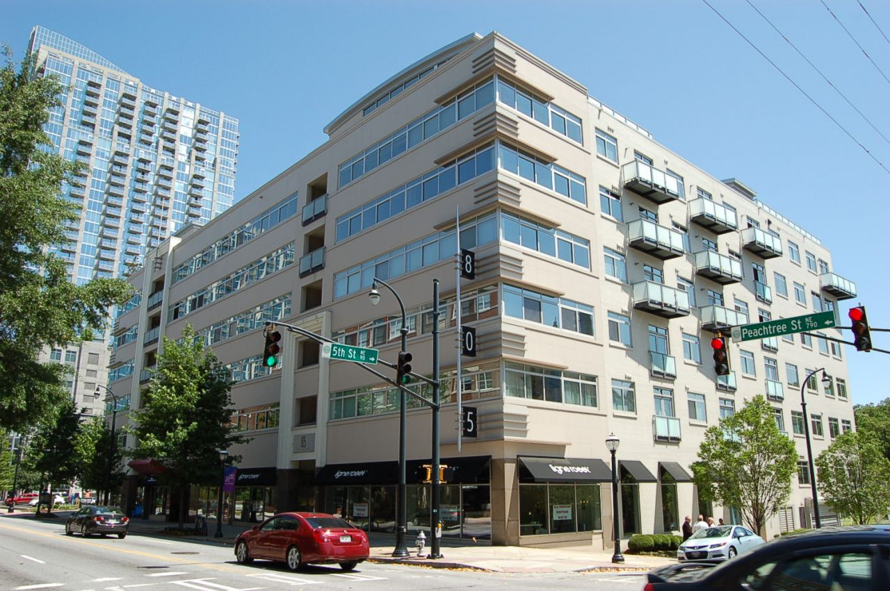 Atlanta condos for sale 805 peachtree for The peachtree