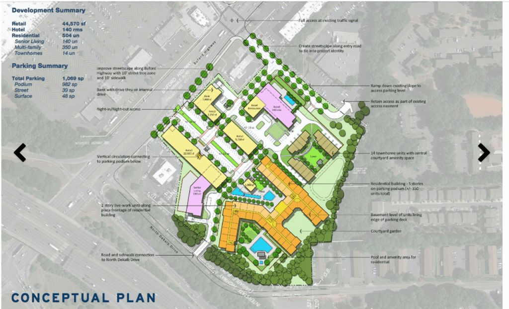 Doraville GA new development June 13, 2015