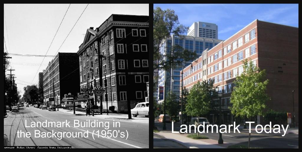 Landmark Before After