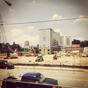 Modera Midtown Construction Site August 13, 2015