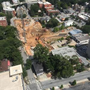 Azure on the Park Construction August 11, 2015