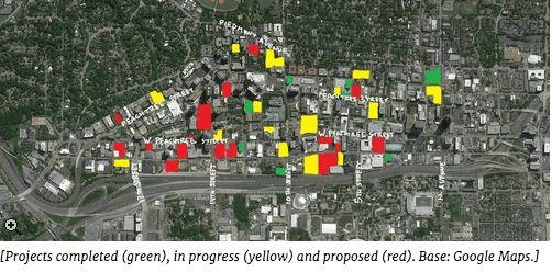 Midtown Atlanta Construction Map MyMidtownMojo.com August 11, 2015