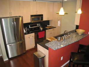 Condo Kitchen backsplash September 5, 2015