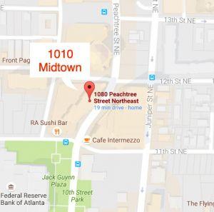 1010 Midtown Atlanta Condos For Sale