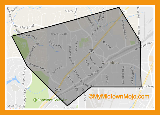 Homes and Condos For Sale Near Chamblee MARTA Station