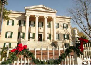 holidays at Old Governors Mansion