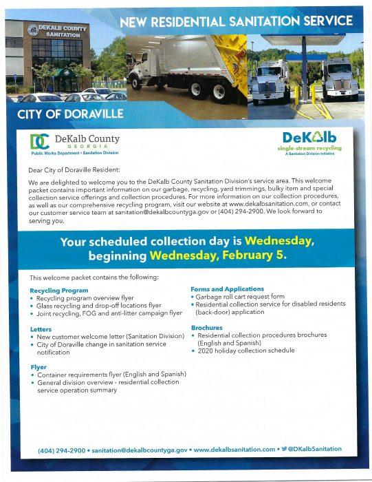 City of Doraville Sanitation Service