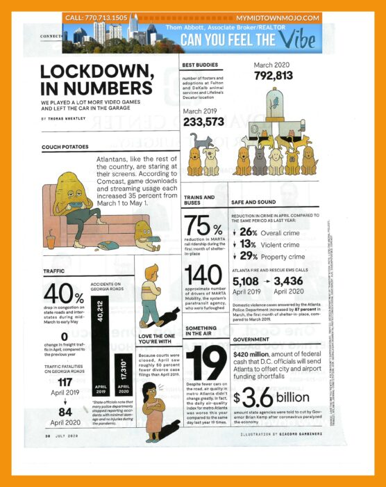 COVID 19 Lockdown in Numbers